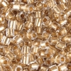 2-cut Beads Extra Size 10 Crystal Bronze Lined